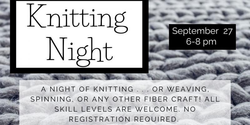 Knitting Night