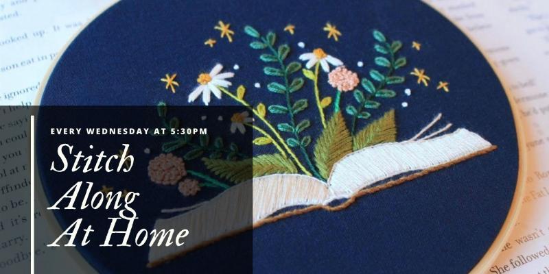 Stitch Along Embroidery Class